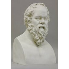 Socrates Ancient Greek Philosopher bust Museum Sculpture Replica Reproduction