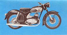 DKW-RT 350-PROSPETTO - 1955-tedesco-NL-commercio di spedizione