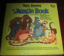 "Walt Disney Lp "" THE JUNGLE BOOK "" Disneyland Record 1967"