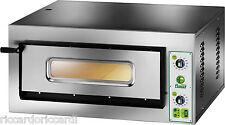 FORNO ELETTRICO PIZZA 1 CAMERA CM 72X108 TF 400 V Professionale 9000 Watt pizze