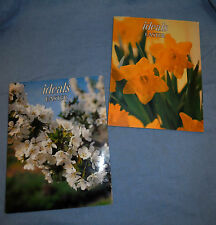 1981 and 1982 Easter issues of Ideals Booklets