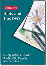 Derwent dvd artists studio & métallique crayons rrp £ 9.95