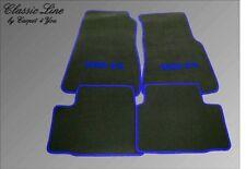 Fußmatten für Nissan 300ZX  300 zx Autoteppich Velour Logo Blau