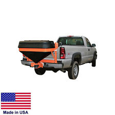 SPREADER Salt - Tailgate Mounted - 12 Volt - 800 Lb Capacity - 30 Ft Spread