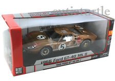 Shelby Collectibles 1966 Ford GT 40 MKII Race Version 1:18 Diecast Gold #5 403GL