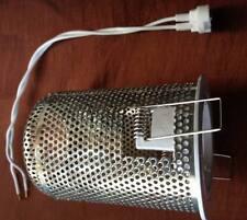 10 X Fixed chrome or white Downlight fiitting Heat Hood MR16 12V Holder Ceiling