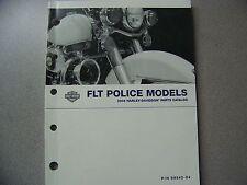 2004 HARLEY FLT POLICE MODELS PARTS CATALOG