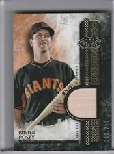 2016 TOPPS TIER ONE #T1R-BPO BUSTER POSEY BAT SAN FRANCISCO GIANTS 36/299 7176