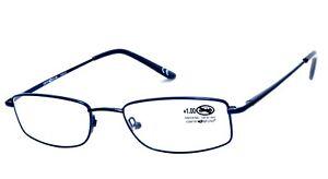 Occhiale da Lettura in Metallo Centro Style - Blu disponibile da +1.00 a +3.50