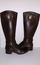Michael Kors Boots Leather Women Boots Size 5.5