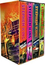 Classic Collection 4 Books Set By Stephen King Pack Bag Of Bones The Shining NEW