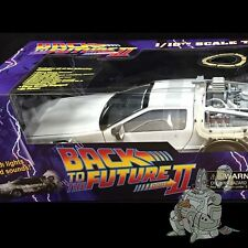 Back to the Future II TIME MACHINE Iced DELOREAN LIghts & Sound DST Replica NEW!
