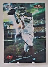 "2015 TOPPS JAMEIS WINSTON ""FORCES OF NATURE"" 5X7 JUMBO ART CARD #/49 BUCS"