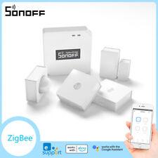 Sonoff умный дом ZigBee мост температура, влажность движения датчик двери окно