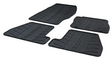 High Quality Black Rubber Tailored Car Mats - Ford Focus Mk3 (10 on) + Clips