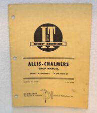 Allis-Chalmers Shop Manual Models One-Ninety & One-Ninety XT Part # AC-19 1967