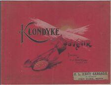 Souvenir of the Klondyke, Illus. and Published by H.J. Goetzman (1901) PHOTOS PB