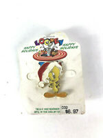 TWEETY PIE CHOKER NECKLACE TWEETY BIRD COLLECTIBLE LEATHER GIFT SALE  FREE SHIP*
