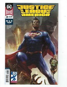 Justice League of America # 28 Mattina Variant Cover NM