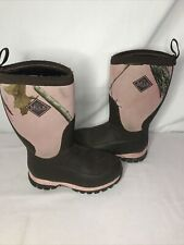 Muck Boot Kids Size 13 Pink Camo