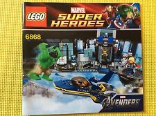 New Lego Instruction Manual ONLY Super Heroes Avengers Helicarrier Breakout 6868
