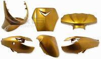 Accessoire de Déguisement Kit 6 Parties Carénage en or pour Peugeot Vivacity