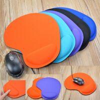 Neue Mauspad Silikon Gel mit Handballenauflage Stützmatte für Computer & LapUc9)