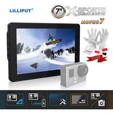 Lilliput Mopro 7 Inch X-Sports Camera Monitor with 2600mAh Built-in Battery DSLR