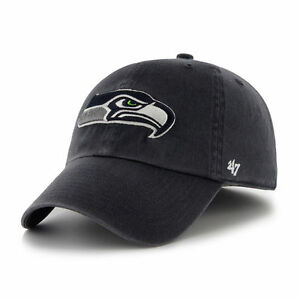 Seattle Seahawks '47 Brand Clean Up Adjustable Cap Hat - Brand New - OSFA