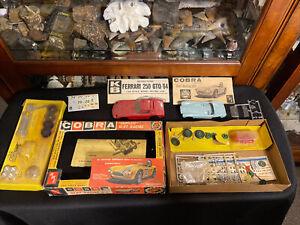 AMT Slot Car Racing Kit PARTs ONLY Ferrari 250 GTO/64 and COBRA