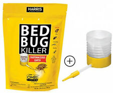 Harris Bed Bug Killer, Diatomaceous Earth Powder, Fast Kill 32 Ounce With Duster