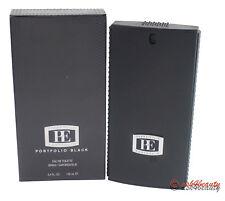 Portfolio Black By Perry Ellis 3.4oz/100ml Edt Spray For Men New In Box