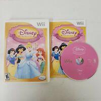Disney Princess: Enchanted Journey (Vintage 2007 Nintendo Wii) Complete CIB