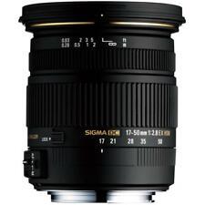 Sigma 17-50mm F2.8 Lens Brand New Jeptall
