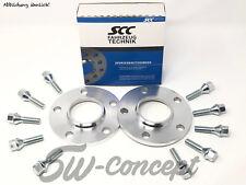 20mm 2x10mm Spurverbreiterungen SCC mit Radschrauben VW Passat 3C B8 Spurplatten