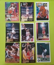 FLEER UPPER DECK MICHAEL JORDAN BULLS BASKETBALL CARDS mid 90's - LOT