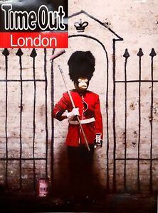 Banksy Limited Edition Print 2010- Original Poster Time Out In Museums PRISTINE