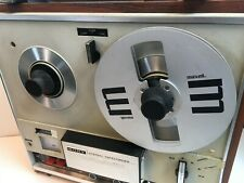 Vintage Sony Reel To Reel Tape Recorder TC-252W with Speakers - Working