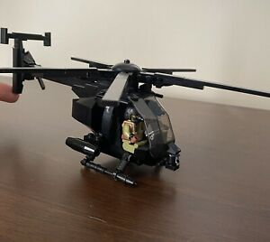 Brickmania AH-6 Attack Helicopter and Crew **Modified**