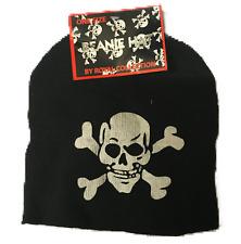Skull hat.one size.black.warm.beanie.ne w