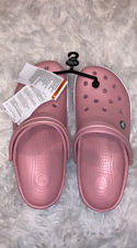 New Women's CROCS Pink Shoes Clogs Size 7 FREE SHIPPING