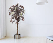 Red Japanese Blossom Artificial Tree - Plant, Luxury Artificial Wisteria trees
