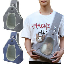 Pet Carrier Backpack for Cat Dog Front Sling Mesh Travel Shoulder Bag Breathable
