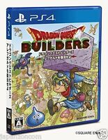 Used PS4 Dragon Quest Builders SONY PLAYSTATION 4   JAPANESE JAPONAIS IMPORT