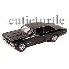 Maisto 1966 Chevrolet Chevelle SS 396 1:24 Diecast Model Car 31960 Black