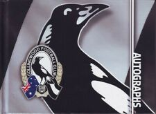 COLLINGWOOD AFL TEAM PLAYERS BLANK AUTOGRAPH HARDCOVER BOOK 52 PAGES