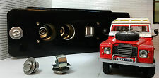 Land Rover Series 2a Dormobile Camper Expedition USB Power Outlet Panel & Screws