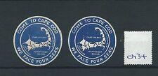 Cartel de leucocitos. - Cenicienta/- CM34-Estados Unidos-vienen a Cape Cod