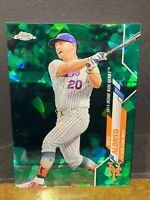 PETE ALONSO #23/45 SSP GREEN 2020 TOPPS UPDATE CHROME SAPPHIRE *PACK FRESH*