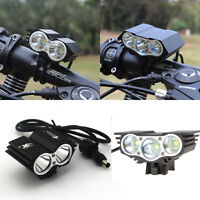 12000LM 2x/3x CREE XML U2 LED Bicycle Lamp Headlamp Bike Light N2/N3 X2/X3 Torch